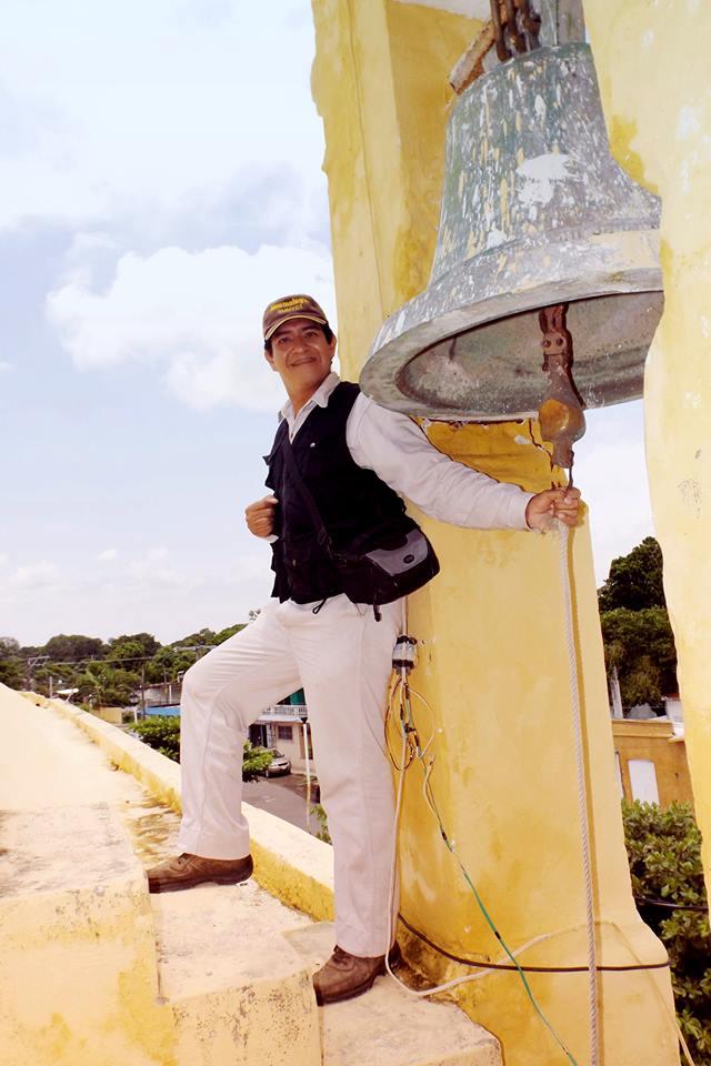 Mario Jesús Gaspar Cobarrubias, egresado de la Facultad de Ciencias y Técnicas de la Comunicación de la Universidad Veracruzana