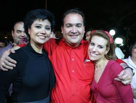 Elizabeth Morales Amiga de Todos: Con Javier Duarte en el Día Internacional  de la Mujer